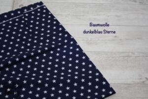BW dunkelblau sterne