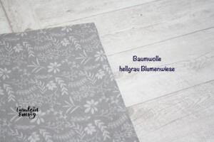 Bw hellgrau Blumenwiese