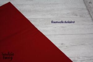 Baumwolle dunkelrot